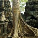 Angor Vat - chrámový komplex v Kambodži