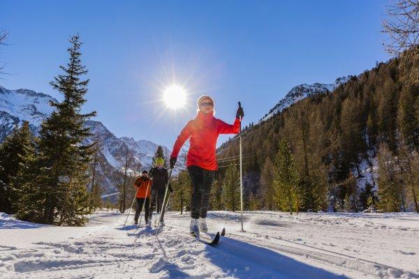 běžky, běžkování, lyže na běžky, sportovní potřeby, zimní sporty, spalování kalorií