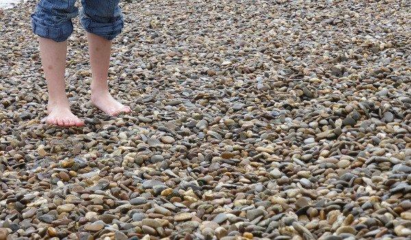 boty, obuv, energie, Země, zdraví, chůze naboso, běh