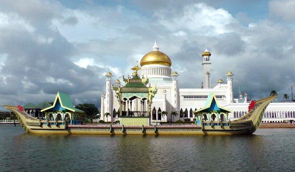Asie, Brunej, sultanát, turistika, ropa
