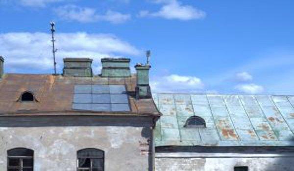 bydlení, podkroví, střechy