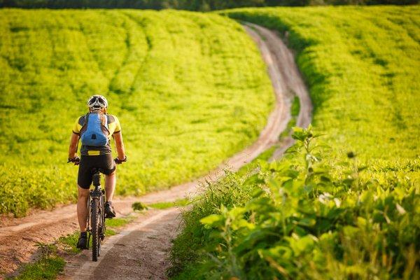 horské kolo, celoodpružené kolo, sport, jízda na kole