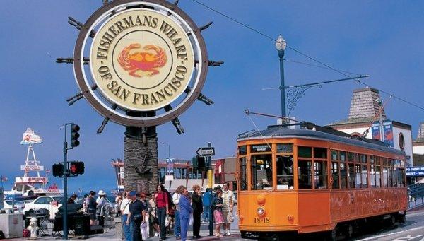 Poprvé v San Franciscu
