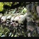 Lovci lebek Dajakové Indonésie