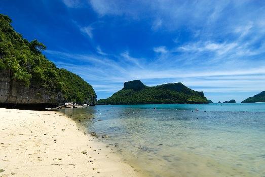 Mořský národní park Tarutao v Thajsku