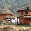 Pokhara - malebné město - Nepál