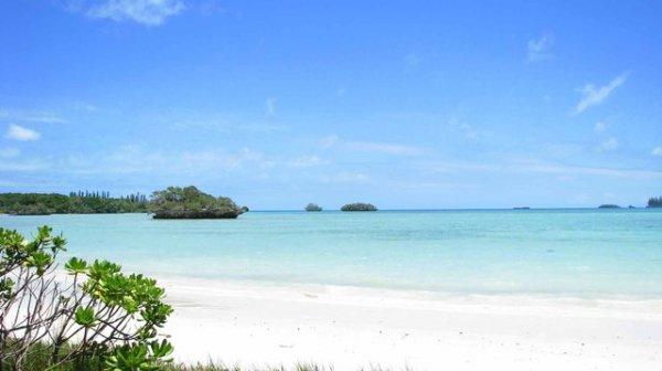 Nedotčený ráj Nové Kaledonie