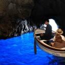 Modrá jeskyně na Capri