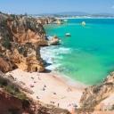 Pláže jižního Portugalska