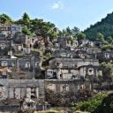 Turecké město duchů Kayakoy