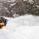 Čtyři doporučené techniky při práci se sněhovou frézou