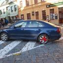 Odvážné parkování