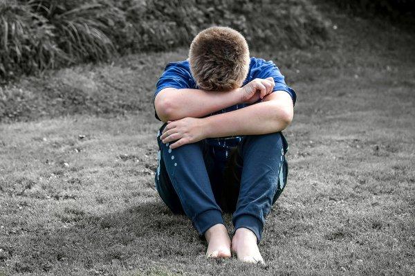 deprese, děti, duševní zdraví