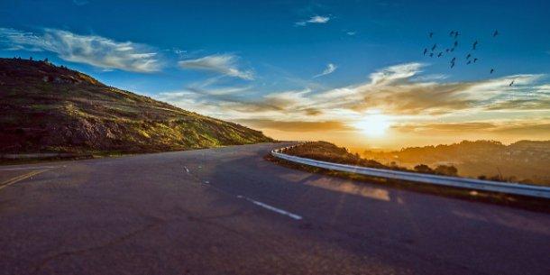 silnice, nebezpečí, cestování, jízda