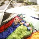 Dětský spacák zajistí potřebné teplo po celou noc