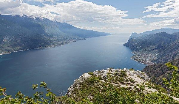 Itálie, jezera, cestování Lido di Garda, Trentino