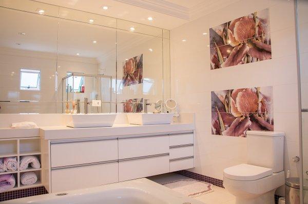bydlení, koupelna, úložné prostory