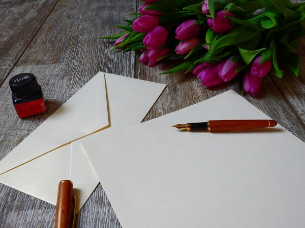 dopis, láska, vztahy