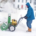 Jak předejít ucpání sněhové frézy