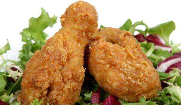 Jak ve fritéze usmažit kuře