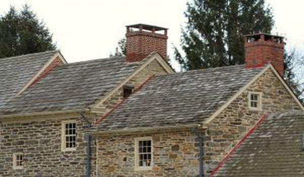 bydlení, stavba domu, komín, komínová vložka