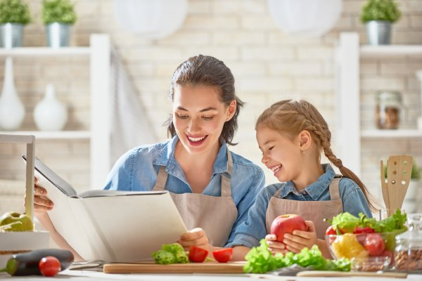 matky, dcery, kuchařka, knihy o vaření, knihy, vaření, recepty