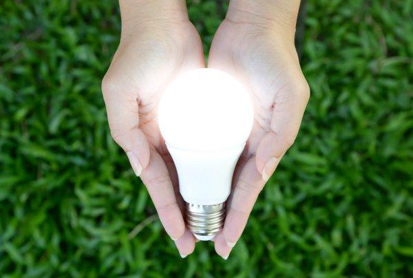 LED žárovka, bydlení, osvětlení