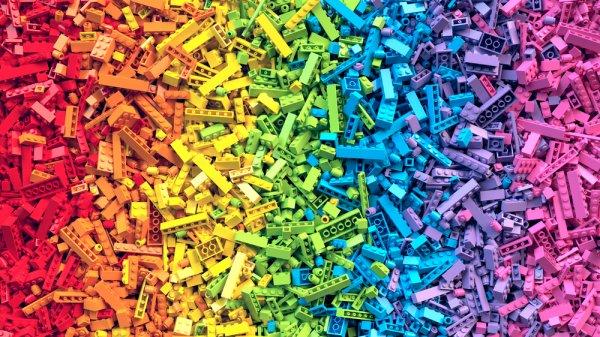 Lego, stavebnice, hra, děti