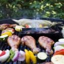 Letní kuchyně na zahradě