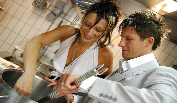 muži, vaření, láska, vztahy, rodina, šéfkuchař