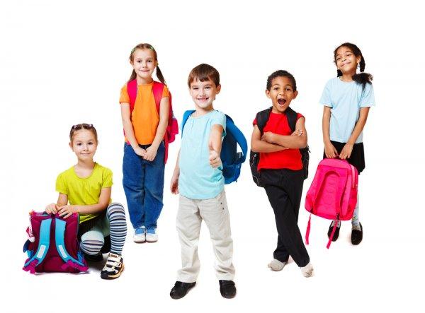 školní batoh, děti, zdraví dětí, školáci, školní pomůcky