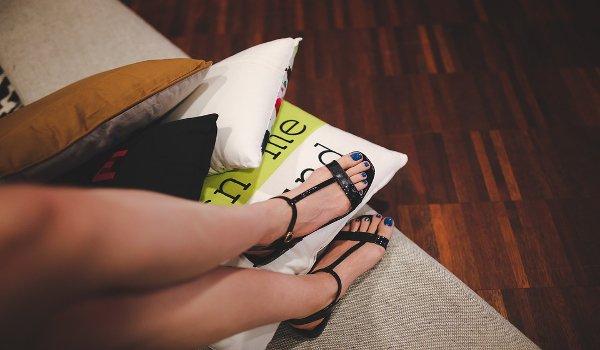 ženy, boty, sandály, péče o nohy, pedikúra