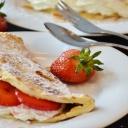 Omeleta, kde nechybí ovoce