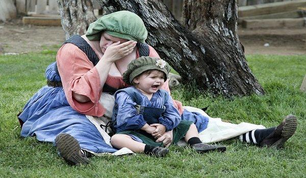 stres, matky, otcové, děti, rodina