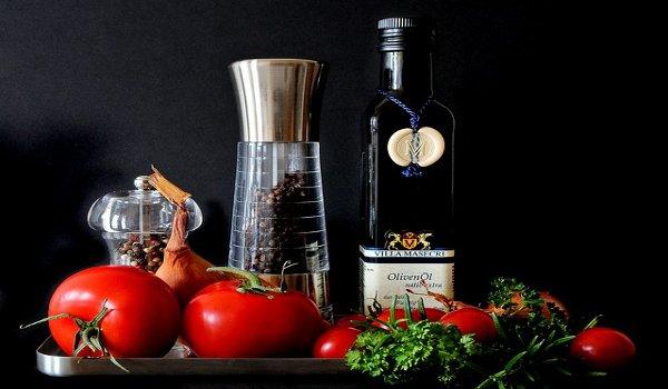 zdraví, rakovina, středomořská strava, olivy, olivový olej, ovoce, zelenina