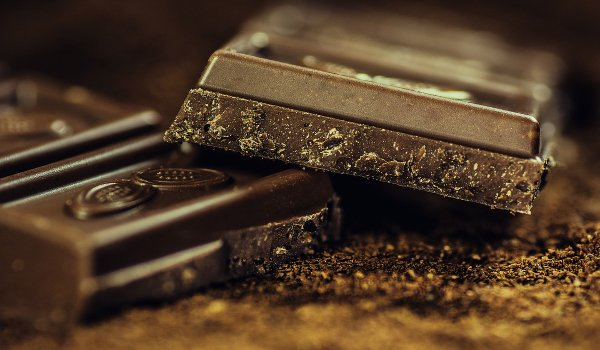 stres, dýchání, čokoláda