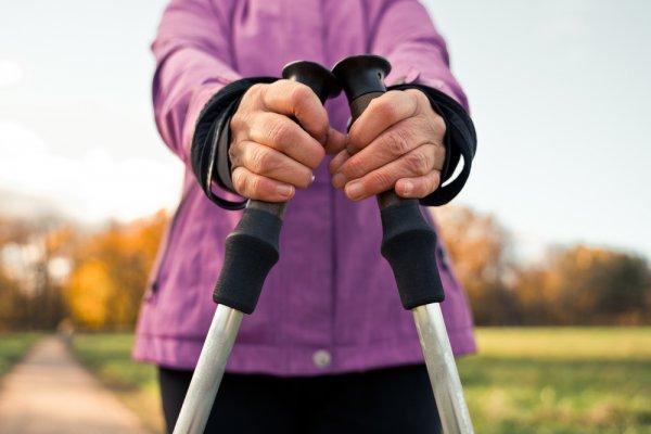trekingové hole, sport, chůze, sportovní potřeby