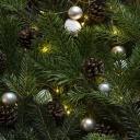 Vánoční stromeček v bytě a na zahradě