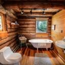 Zařizujeme koupelnu v rustikálním stylu